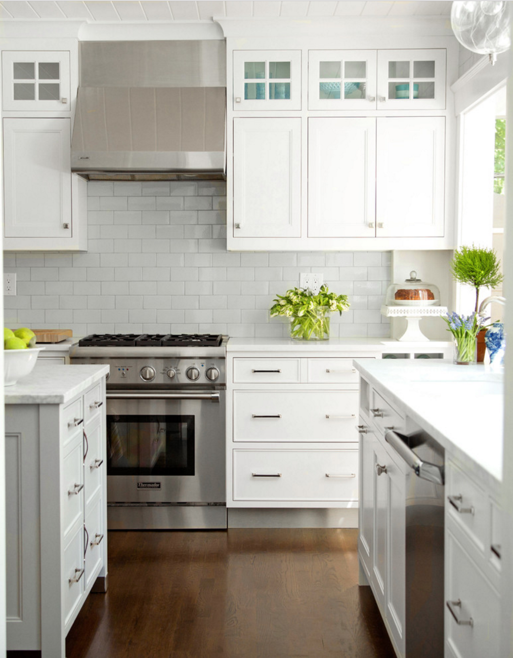 Transcend Collection brings a modern look to a colonial kitchen ...