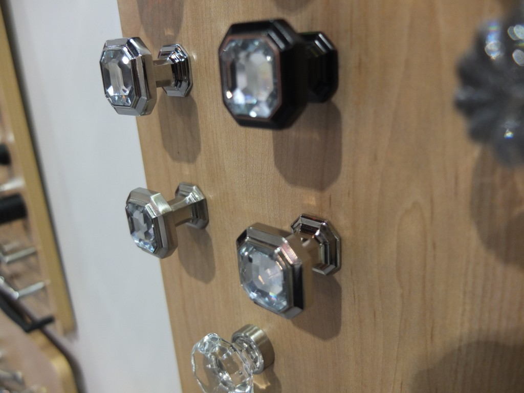 Top Knobs Crystal Chareau knob