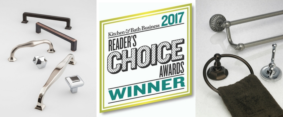 Top Knobs 2017 KBB Readers' Choice Award Winner